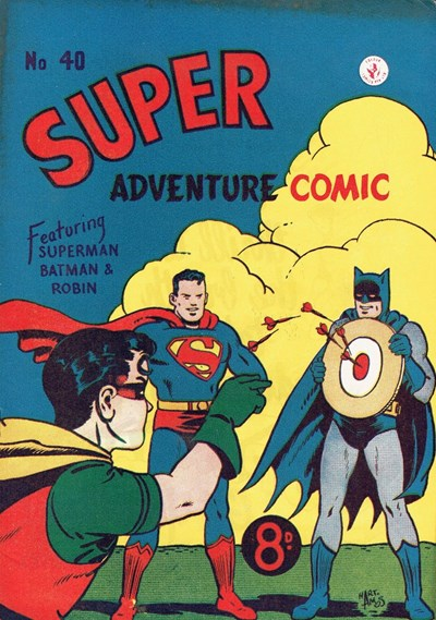 Super Adventure Comic (Colour Comics, 1950 series) #40 ([October 1953])