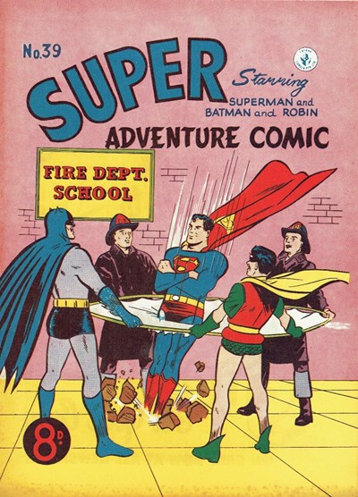 Super Adventure Comic (Colour Comics, 1950 series) #39 ([September 1953?])