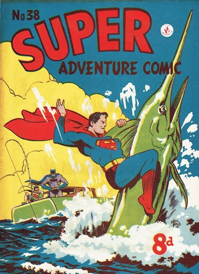Super Adventure Comic (Colour Comics, 1950 series) #38 ([August 1953])