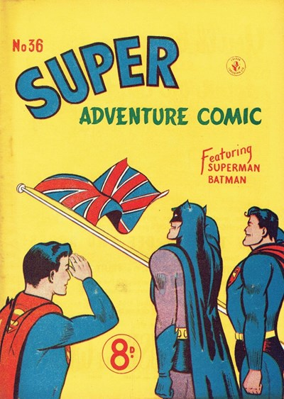 Super Adventure Comic (Colour Comics, 1950 series) #36 ([June 1953?])
