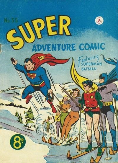 Super Adventure Comic (Colour Comics, 1950 series) #35 ([May 1953])