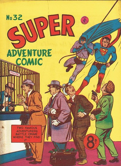 Super Adventure Comic (Colour Comics, 1950 series) #32 ([February 1953])