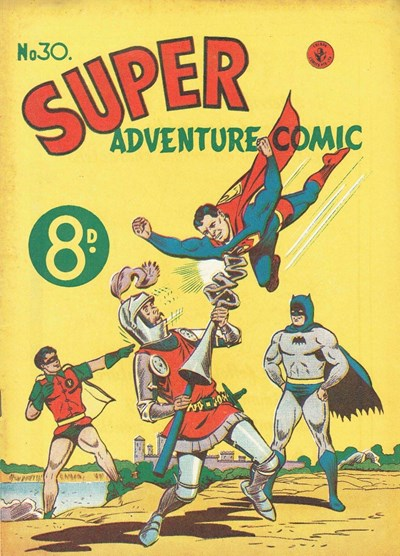 Super Adventure Comic (Colour Comics, 1950 series) #30 ([December 1952?])