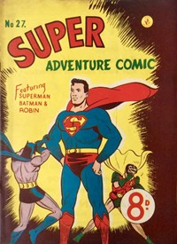 Super Adventure Comic (Colour Comics, 1950 series) #27 — No title recorded