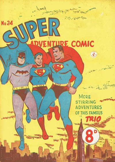 Super Adventure Comic (Colour Comics, 1950 series) #24 ([June 1952])