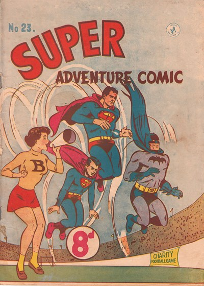 Super Adventure Comic (Colour Comics, 1950 series) #23 ([May 1952])