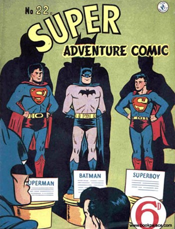 Super Adventure Comic (Colour Comics, 1952 series) #22 ([April 1952?])