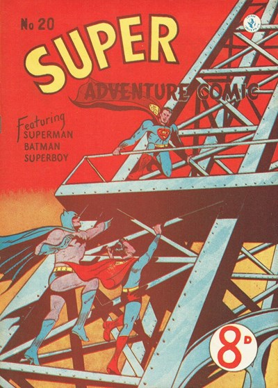 Super Adventure Comic (Colour Comics, 1950 series) #20 ([February 1952])