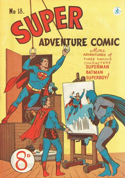 Super Adventure Comic (Colour Comics, 1950 series) #18 ([December 1951])