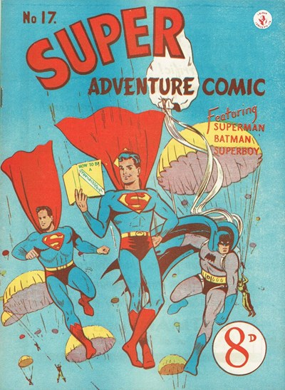 Super Adventure Comic (Colour Comics, 1950 series) #17 ([November 1951])