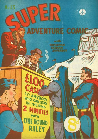 Super Adventure Comic (Colour Comics, 1950 series) #13 ([July 1951])