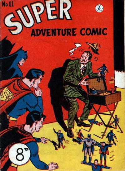 Super Adventure Comic (Colour Comics, 1950 series) #11 ([May 1951])