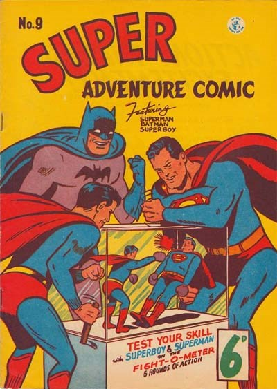 Super Adventure Comic (Colour Comics, 1950 series) #9 ([March 1951])
