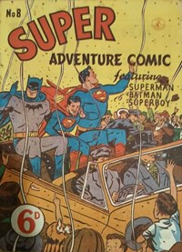 Super Adventure Comic (Colour Comics, 1950 series) #8 — No title recorded
