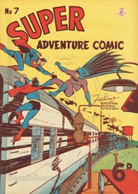 Super Adventure Comic (Colour Comics, 1950 series) #7 — No title recorded