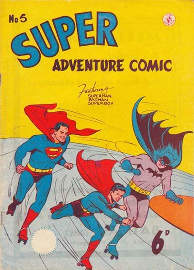 Super Adventure Comic (Colour Comics, 1950 series) #5 ([November 1950?])