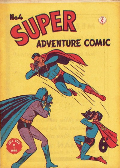Super Adventure Comic (Colour Comics, 1950 series) #4 ([October 1950])