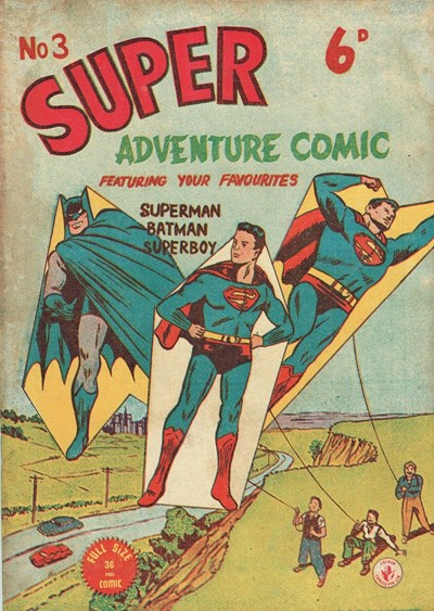 Super Adventure Comic (Colour Comics, 1950 series) #3 ([September 1950?])