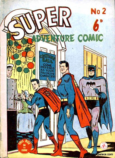 Super Adventure Comic (Colour Comics, 1950 series) #2 ([August 1950?])