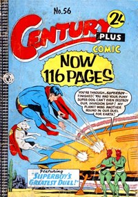 Century Plus Comic (Color Comics, 1960 series) #56 — Superboy's Greatest Duel
