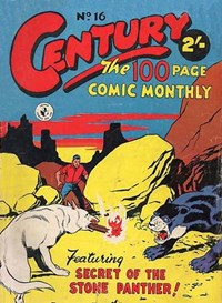 Century the 100 Page Comic Monthly (Colour Comics, 1956 series) #16 — Secret of the Stone Panther!