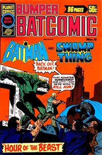 Bumper Batcomic (KG Murray, 1976 series) #6 — Hour of the Beast