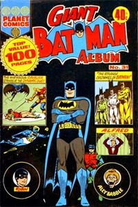 Giant Batman Album (Colour Comics, 1962 series) #31 ([1975?])