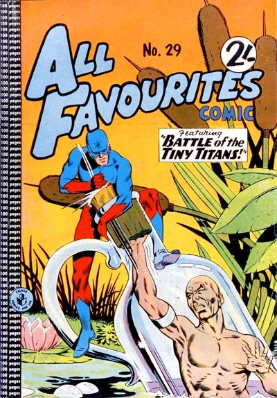 All Favourites Comic (Colour Comics, 1960 series) #29 ([February 1962?])