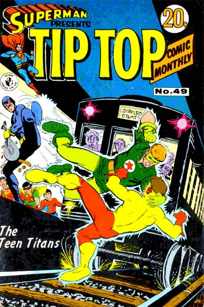 Superman Presents Tip Top Comic Monthly (Colour Comics, 1965 series) #49 ([May 1969?])
