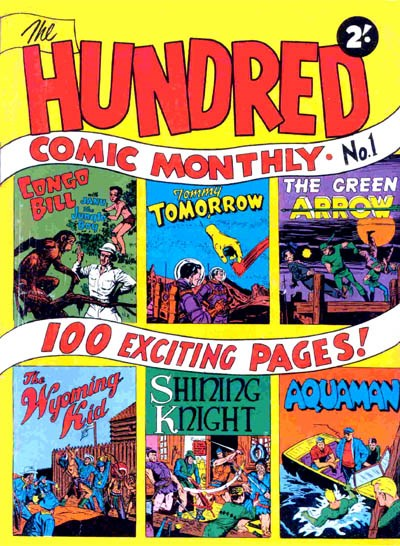 The Hundred Comic Monthly (Colour Comics, 1956 series) #1 ([October 1956])