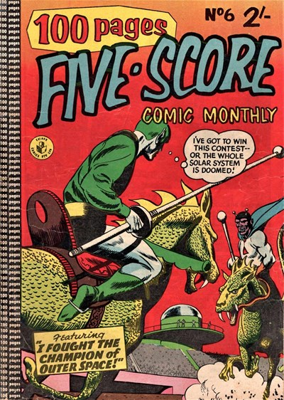Five-Score Comic Monthly (Colour Comics, 1958 series) #6 ([October 1958?])