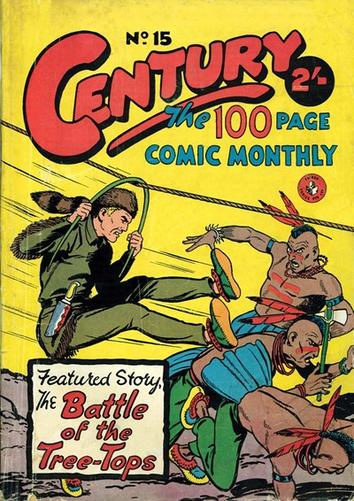 Century the 100 Page Comic Monthly (Colour Comics, 1956 series) #15 ([August 1957?])