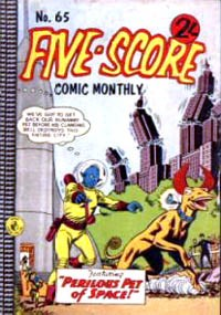 Five-Score Comic Monthly (Colour Comics, 1961 series) #65 — No title recorded