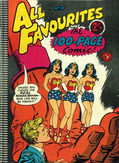 All Favourites, The 100-Page Comic (Colour Comics, 1958 series) #12 ([March 1959?])