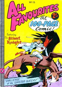 All Favourites, The 100-Page Comic (Colour Comics, 1958 series) #13 — Challenge of the Sinister Queens!