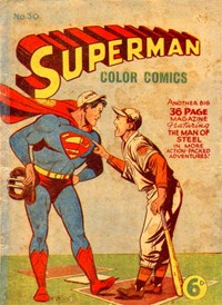 Superman Color Comics (Colour Comics, 1949 series) #30 — No title recorded