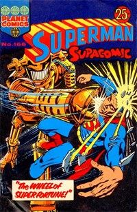 Superman Supacomic (Colour Comics, 1959 series) #166 — The Wheel of Super-Fortune