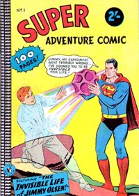 Super Adventure Comic (Colour Comics, 1960 series) #1