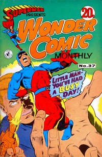 Superman Presents Wonder Comic Monthly (Colour Comics, 1965 series) #37 ([May 1968?])