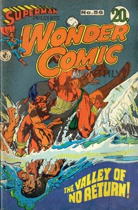 Superman Presents Wonder Comic Monthly (Colour Comics, 1965 series) #56 — The Valley of No Return!