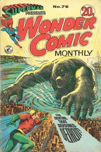 Superman Presents Wonder Comic Monthly (Colour Comics, 1965 series) #78 — The Creature That Devoured Detroit