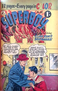 Clark Kent's Bodyguard, Page 1—Superboy (Colour Comics, 1950 series) #98  ([April 1957?])