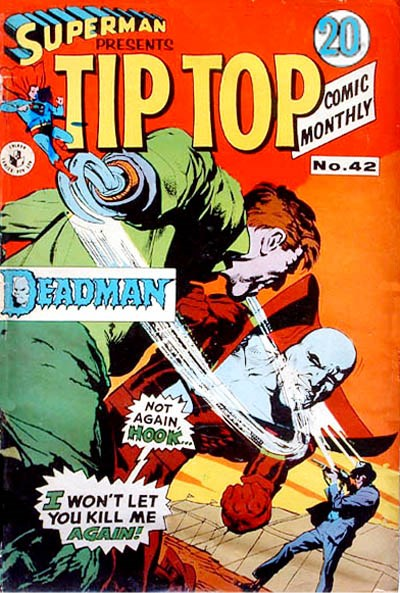 Superman Presents Tip Top Comic Monthly (Colour Comics, 1965 series) #42 ([October 1968?])