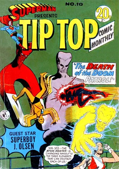 Superman Presents Tip Top Comic Monthly (Colour Comics, 1965 series) #10 ([February 1966?])