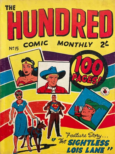 The Hundred Comic Monthly (Colour Comics, 1956 series) #15 ([December 1957?])