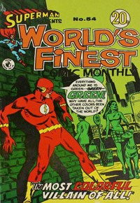 Superman Presents World's Finest Comic Monthly (Colour Comics, 1965 series) #54 — No title recorded