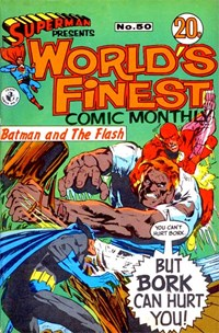 Superman Presents World's Finest Comic Monthly (Colour Comics, 1965 series) #50 ([June 1969?])