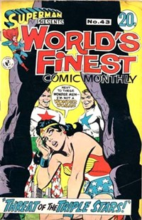 Superman Presents World's Finest Comic Monthly (Colour Comics, 1965 series) #43 ([November 1968?])