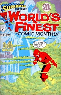 Superman Presents World's Finest Comic Monthly (Colour Comics, 1965 series) #38
