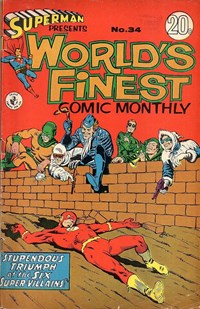 Superman Presents World's Finest Comic Monthly (Colour Comics, 1965 series) #34 ([February 1968?])